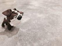 Un perro Imagen de archivo