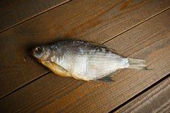 Un pescado secado imagenes de archivo