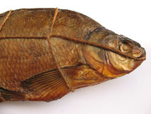 Un pesce affumicato Fotografia Stock