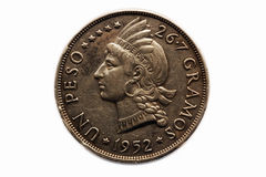 Un peso coin Royalty Free Stock Photography