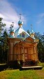 Un petit bâtiment en bois photographie stock