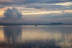 Un petit bateau Images libres de droits