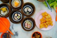 Un petit déjeuner thaïlandais Image libre de droits