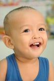 Un petit garçon 1 an image stock