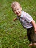 Un petit garçon Images stock