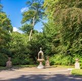 Un petit mémorial commémoratif en parc de Duthie, Aberdeen photos libres de droits