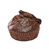 Un petit pain cuit au four frais d'Américain de chocolat Images stock