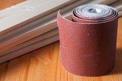 Un petit pain de papier sablé Photographie stock
