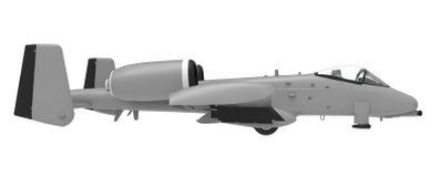 Un petit plan militaire des pays des USA et de l'OTAN illustration 3D Image libre de droits