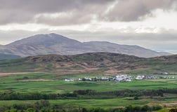 Un petit village sur l'île de Jura en Ecosse photographie stock