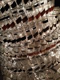 Un peu de beaucoup de bouteilles image stock