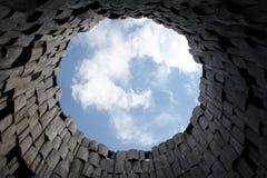 Un pezzo di cielo Fotografia Stock Libera da Diritti