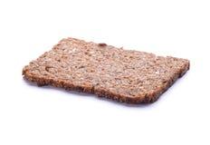 Un pezzo di pane di segale Fotografie Stock