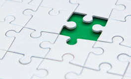Pezzo di puzzle Fotografie Stock