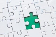 Pezzo di puzzle Fotografia Stock Libera da Diritti