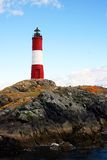 Un phare très coloré Image libre de droits