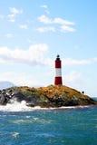 Un phare venteux Image stock