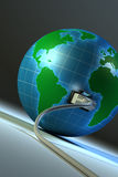 Un pianeta, un collegamento 02 Immagini Stock Libere da Diritti