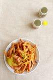 Aperitivo cinese di freddo dell'alimento Immagini Stock