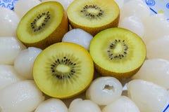 Un piatto della frutta Immagine Stock Libera da Diritti