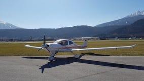 Un piccolo aereo Immagini Stock