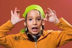 Un piccolo bambino Fotografie Stock Libere da Diritti