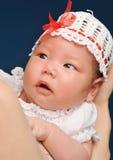 Un piccolo bambino Fotografie Stock