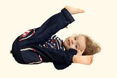 Un piccolo bambino. Immagini Stock Libere da Diritti