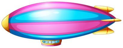 Un piccolo dirigibile illustrazione vettoriale