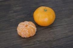 Un piccolo gruppo rotondo arancio con grande gusto immagini stock