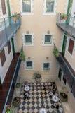 Un piccolo hotel nel centro di Gerusalemme Israele immagine stock