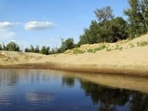 Un piccolo lago Immagine Stock Libera da Diritti