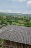 Un piccolo villaggio rurale in Chiang Mai Province Immagine Stock