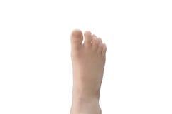 Un pie del ` s del niño foto de archivo libre de regalías