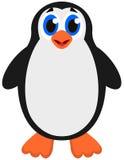 Un pingüino de emperador lindo Foto de archivo libre de regalías