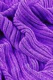 Matériel tricoté Photos libres de droits
