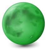 Un planeta verde Fotos de archivo libres de regalías