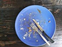 Un plat de bifteck photographie stock libre de droits