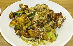 Un plat de rojak Photo libre de droits
