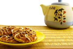 Un plat des biscuits Image stock