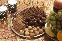 Un plateau de biscuit Photos libres de droits