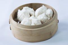 Un plato del dim sum Bao imagenes de archivo