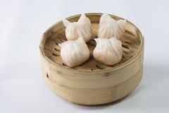 Un plato del dim sum Bao fotografía de archivo