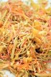 Un plato especial durante Año Nuevo chino llamó Yusheng o a Yee Sang Imagenes de archivo
