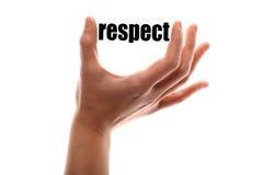 Un plus petit respect photographie stock libre de droits
