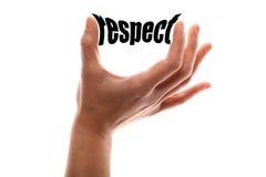 Un plus petit respect images libres de droits