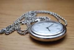 Un pocketwatch Photographie stock
