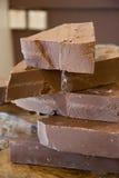 Un poco de chocolate Fotografía de archivo libre de regalías