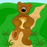 Un poco oso Imágenes de archivo libres de regalías