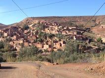 Un poco pueblo del imlil Imagenes de archivo